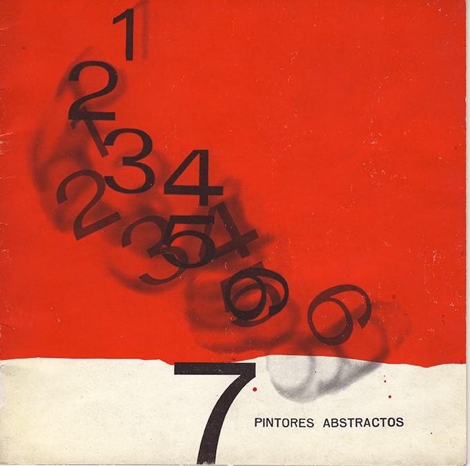 Catalogue of the exhibition Siete pintores abstractos