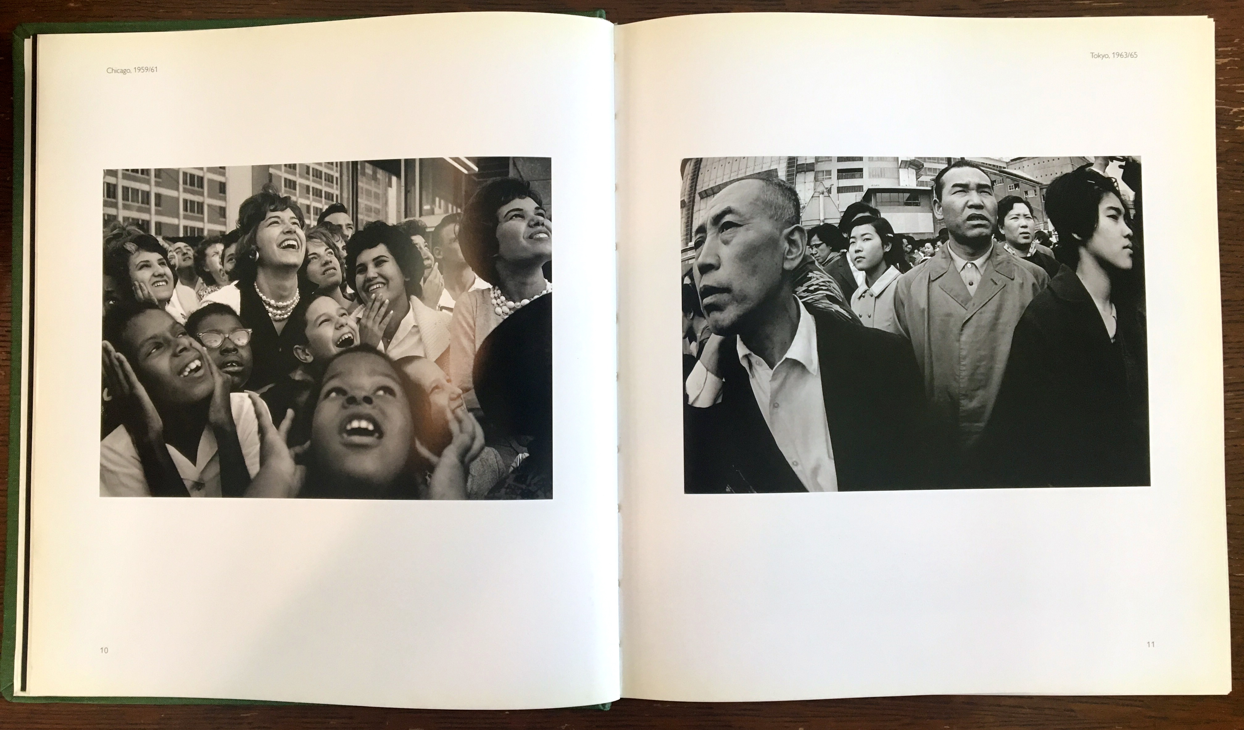 Photo of the inside of Yasuhiro Ishimoto: A Tale of Two Cities. Taken by me.