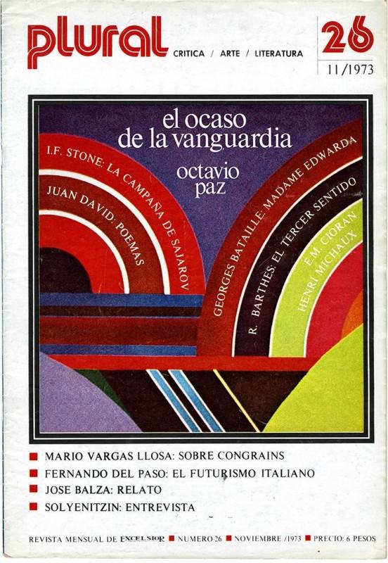 Revista Plural. N. 26, 1973