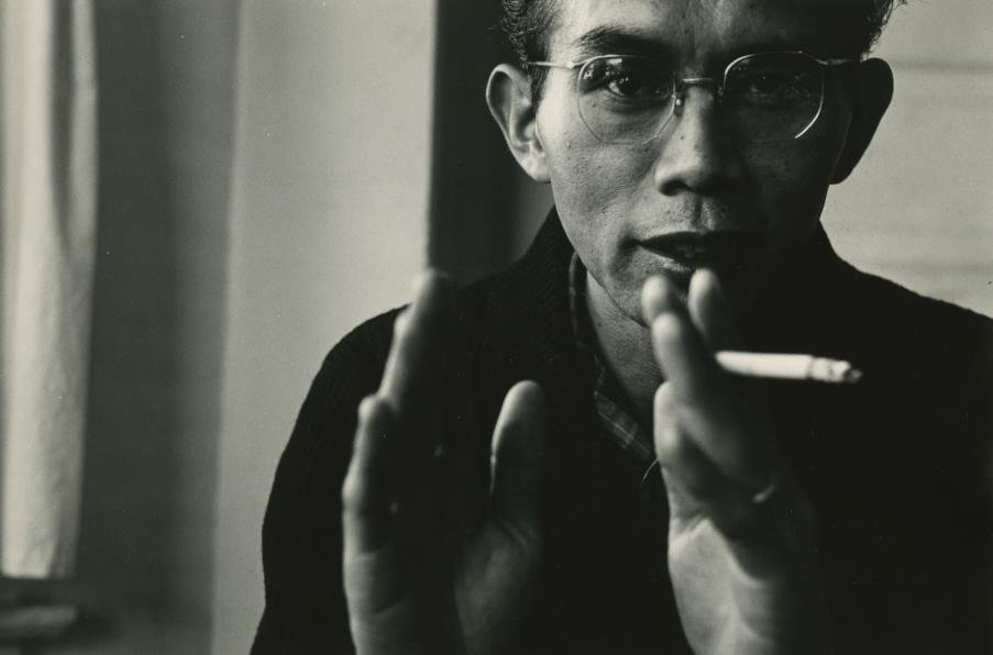 Portrait of Yasuhiro Ishimoto taken by his good friend and fellow photographer David Windsor.